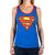 Supergirl Superman Logo Women's Racerback Costume Tank Top