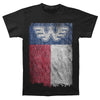 Waylon Jennings Texas Flag T-Shirt-Cyberteez
