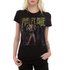Motley Crue Theater Of Pain Vintage Women's T-Shirt-Cyberteez