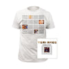 Tori Amos Little Earthquakes World Tour T-Shirt-Cyberteez