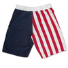 USA American Flag Men's Board Shorts Swim Trunks Patriotic Stars And Stripes-Cyberteez