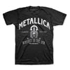 Metallica Whiskey In The Jar Label T-Shirt-Cyberteez