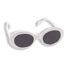 Nirvana Kurt Cobain Sunglasses WHITE Alien Shades Mod Cat Eyes Sun Glasses-Cyberteez