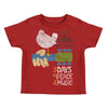 Woodstock Festival Poster Toddler Kids Child T-Shirt-Cyberteez
