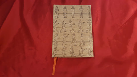 Blank Notebook Tai Chi theme. Empty ruled journal for health and meditation lovers. Creative gift for yogis