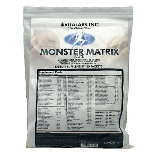 Vitalabs Monster Matrix Pack