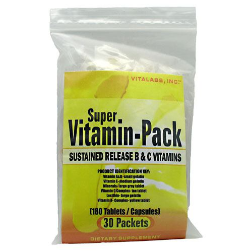 Vitalabs Super Vitamin Pack