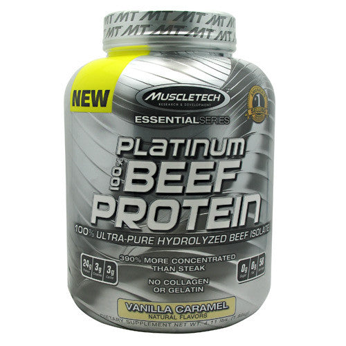 Muscletech Essential Series 100% Platinum Beef Protein
