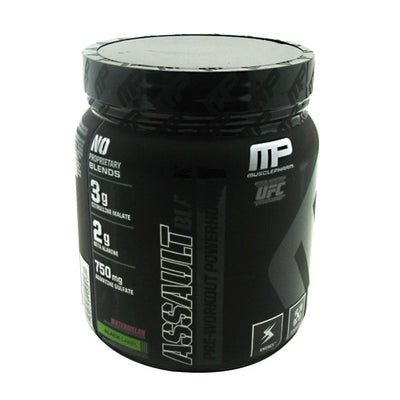 MusclePharm Black Label Assault Black
