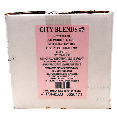 City Blends Concentrated Drink Mix