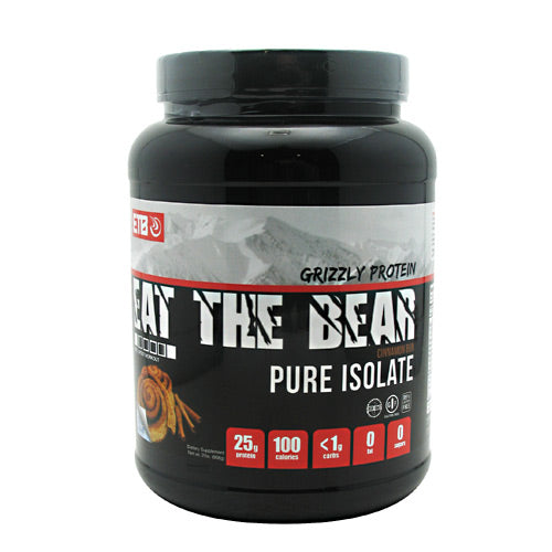 Eat The Bear Grizzly Pure Isolate