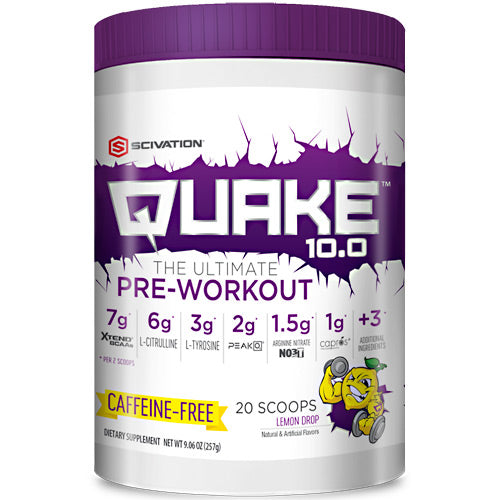 Scivation Quake 10.0 Caffeine Free