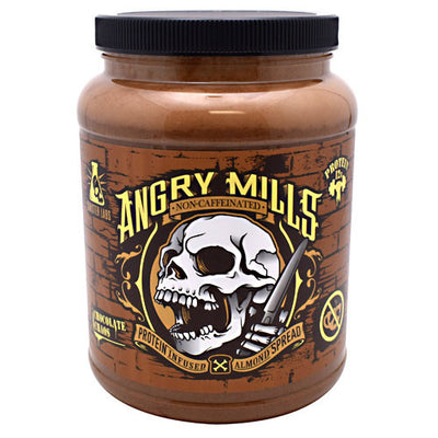 Sinister Labs Non-Caffeinated Angry Mills Almond Spread