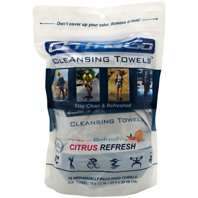 On the Go Towels Cleansing Towels