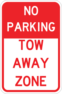 Tow Away Zone - ParkingSignWarehouse