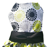 Green and Black Triple Layer Skirt - Chic Doggie Boutique  - 2