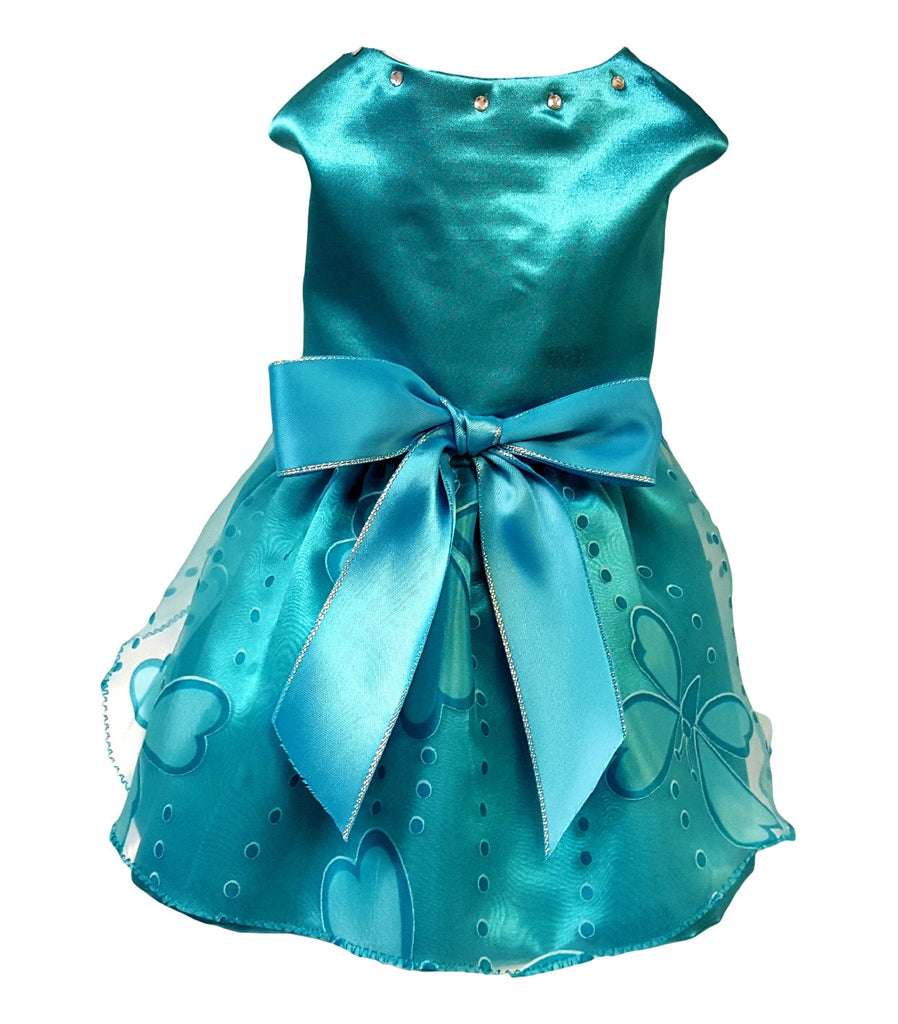 Teal Butterfly - Chic Doggie Boutique  - 1