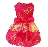 Hot Pink Roses - Chic Doggie Boutique  - 1