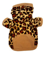 Cheetah Print Hoodie - Chic Doggie Boutique  - 1