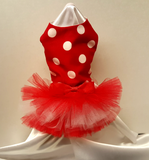 Red and White Polka Dots - Chic Doggie Boutique  - 2