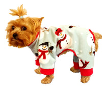 Snowman Pajamas - Chic Doggie Boutique  - 1