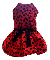 Red Paw Print - Chic Doggie Boutique  - 1