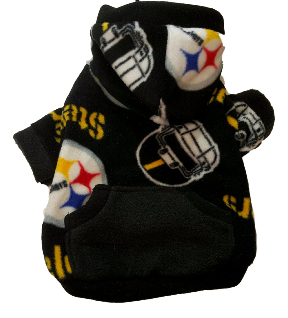 Pittsburgh Steeler Hoodie - Chic Doggie Boutique  - 1