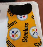 Pittsburgh Steeler  Fleece Coat - Chic Doggie Boutique  - 2