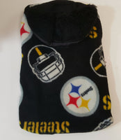 Pittsburgh Steeler  Fleece Coat - Chic Doggie Boutique  - 1