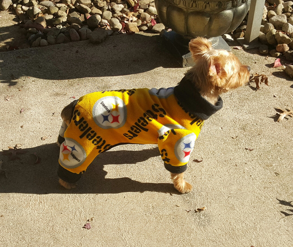 Pittsburgh Steeler Pajama/Lounger - Chic Doggie Boutique  - 1