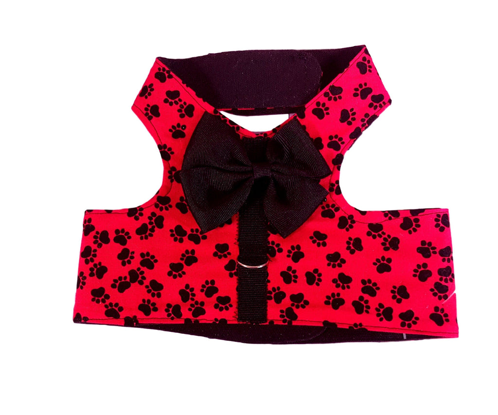 Paw Print Harness - Chic Doggie Boutique  - 1