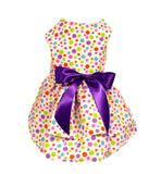 Multi Colored Polka Dot - Chic Doggie Boutique  - 1