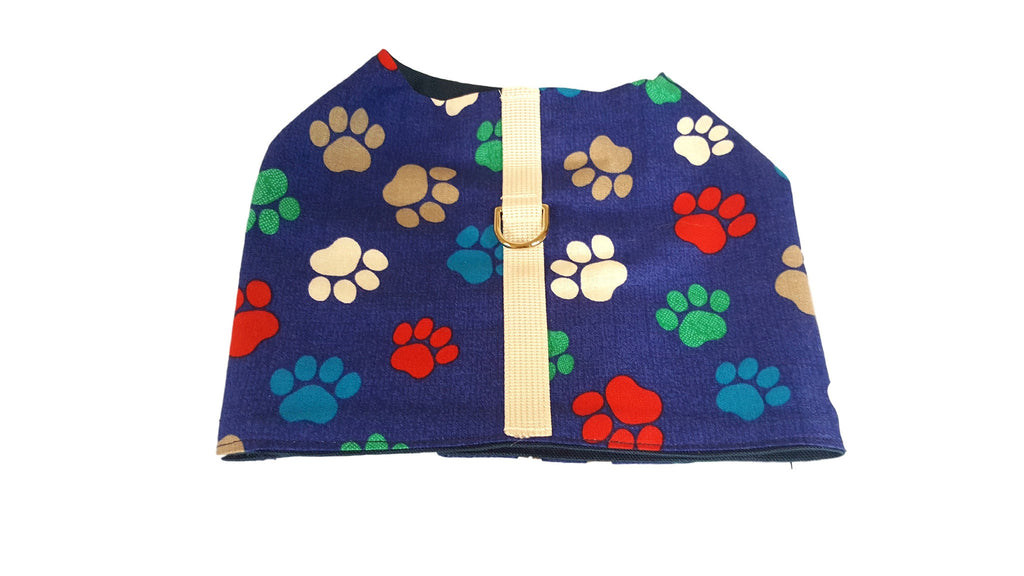 Boy's Blue Paw Print - Chic Doggie Boutique  - 1