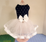 Denim and Tulle Tutu - Chic Doggie Boutique  - 2