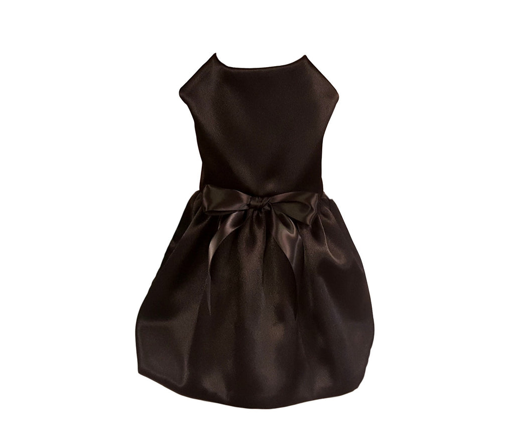 Dog Dress, Satin Elegance - Chic Doggie Boutique  - 1