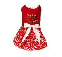 Christmas Dog Dress - Chic Doggie Boutique  - 1