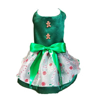 Candy Cane Christmas Dress - Chic Doggie Boutique  - 1