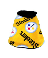 Gold Steeler Fleece Coat - Chic Doggie Boutique  - 1
