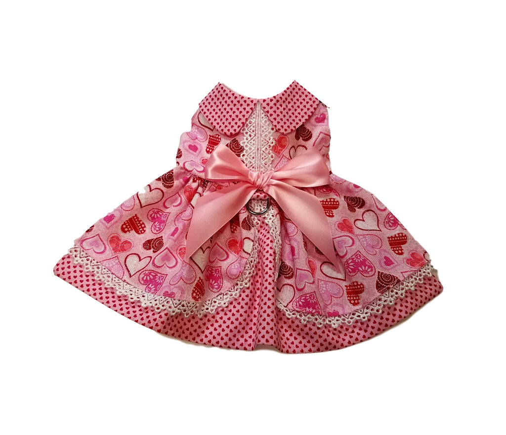 Valentine's Day Dog Dress - Chic Doggie Boutique  - 1