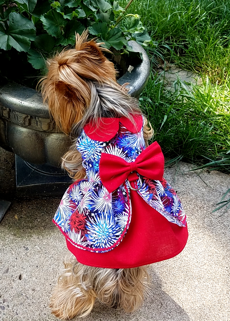 July 4th Dog Dress