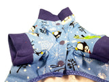 Blue Penguin Christmas Pajama's