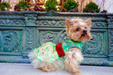 Holly Berry Christmas Dress - Chic Doggie Boutique  - 3