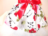 Red, Black and Pink Floral - Chic Doggie Boutique  - 4