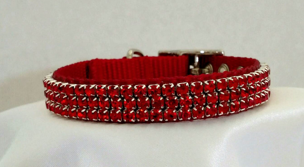 Red Crystals - Chic Doggie Boutique  - 1