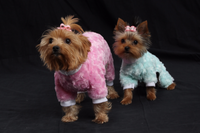 Soft Swirl Fur Pajamas - Chic Doggie Boutique  - 1