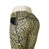 Camouflage Print Yoga Leggings With Pocket