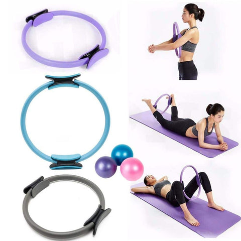 Yoga Fitness Wheel Pilates Ring