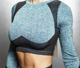 2-Piece Winter Set Crop Top + Leggings