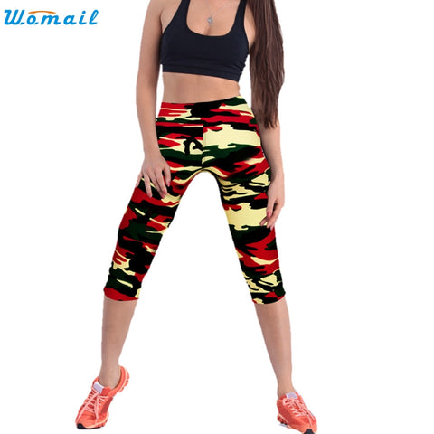 Army Crop Yoga Pants