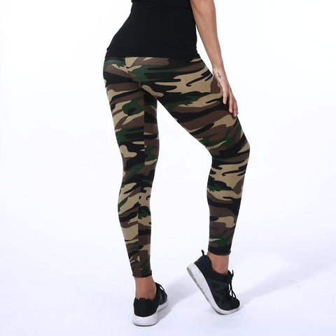 Camouflage Pattern Yoga Pants